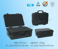 hard ABS plastic tool case for precision instruments