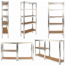 5 Tier Heavy Duty Boltless Metal Shelving <strong>Shelves</strong> Storage Unit Garage shed