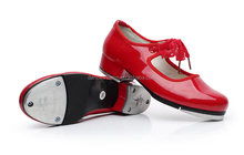 Wholesale Fashionable Girls Women Tap Dance Shoes Red Black Tap Shoes