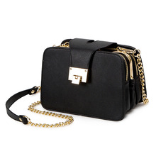 2019 Spring New Fashion Women Shoulder Bag Chain Strap Flap <strong>Designs</strong> Handbags Clutch Bag Ladies Messenger Bags With Metal Buckle