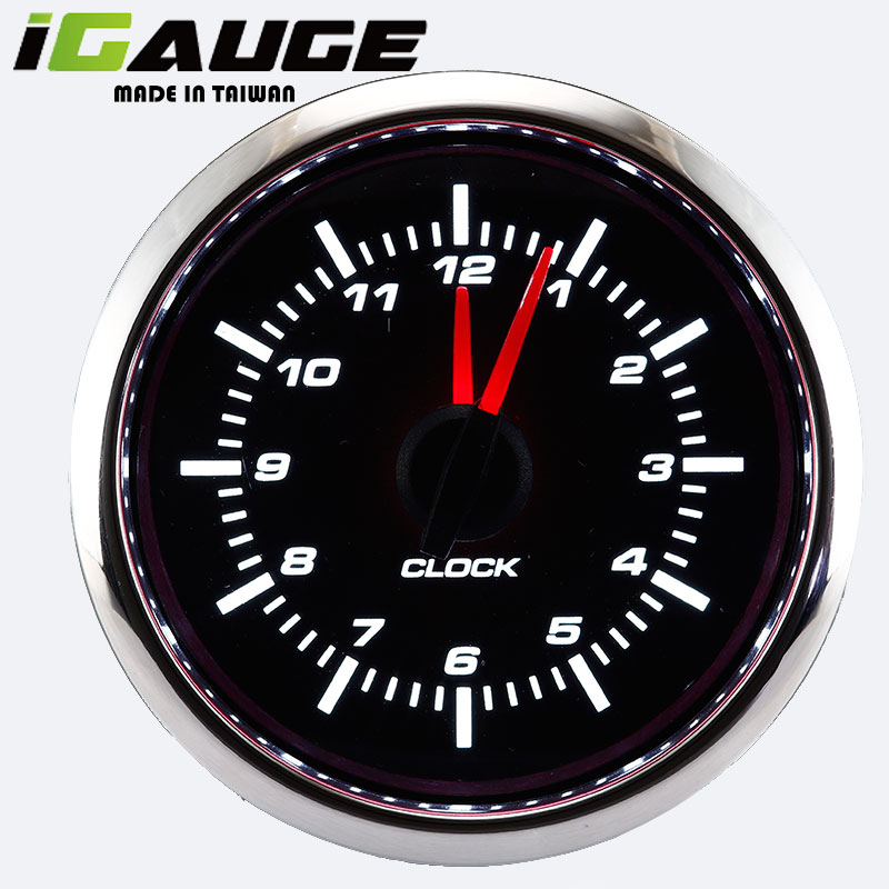 Auto Meter CE Analong Car Dashboard Decorations Motorcycle Clock Gauge