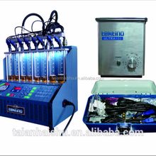CE certified, Tektino INJ-6B Ultrasonic Fuel Injector Test and Cleaning Machine
