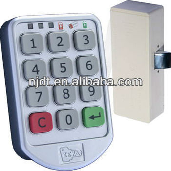 electronic safe lock we have own patent in Chinacode cabinet lock