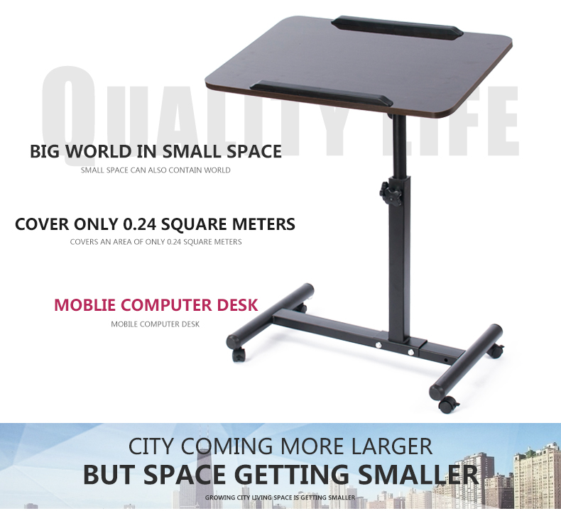 Office home height adjustable desk frame computer table