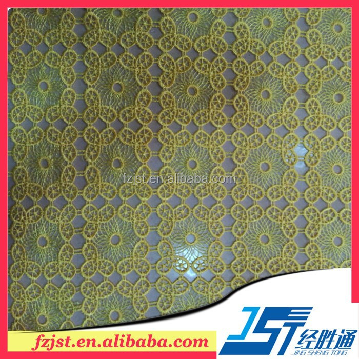 Gold guipure african cord lace fabric wholesale for Indian suits