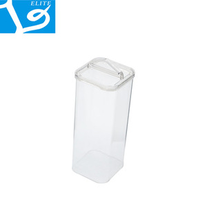 PETG/PVC Clear Plastic Square Tube Packing With End Caps