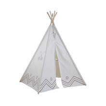 Kids canvas pop up teepee tent