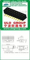 ULO Connectors female waterproof pogo pin connector fuse terminal blocks