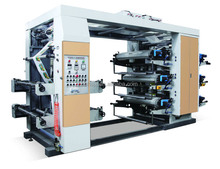 YT-61200 roll plastic film 6 colors flexography printing machine