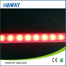 red color 14.4W 60led/m 20-22lm/led 5054 led rigid bar light strip CE RoHS