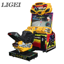 Hot moto gp simulator coin operated arcade game machine motorcycle for 1 player