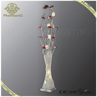 2015 Hot sale modern decorative aluminum floor standing lamp with CE/VDE/UL/ROHS