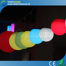 GLACS led music dancing furniture LED Glowing Floating Ball/Light up/Shinning decoration ball