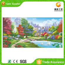 Wholesale Price Painting And Calligraphy 3D DIY Diamond Painting Forest Landscape Painting