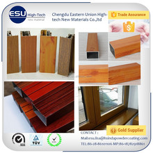 Best selling wood grain finish aluminum window powder coating paint with trade assurance from china factory