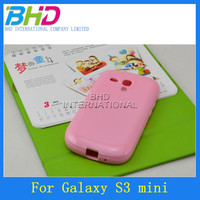 Cheap TPU cell phone case for Samsung S3 mini