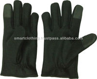 Wool Cashmere Touch Screen Gloves/Plain Black Touch Screen Gloves/Smartphone and Tablet PC Touch Screen Glove/Petrol Pump Gloves
