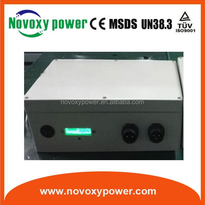 18650 battery pack deep cycle 12v 35ah li ion battery for solar string light
