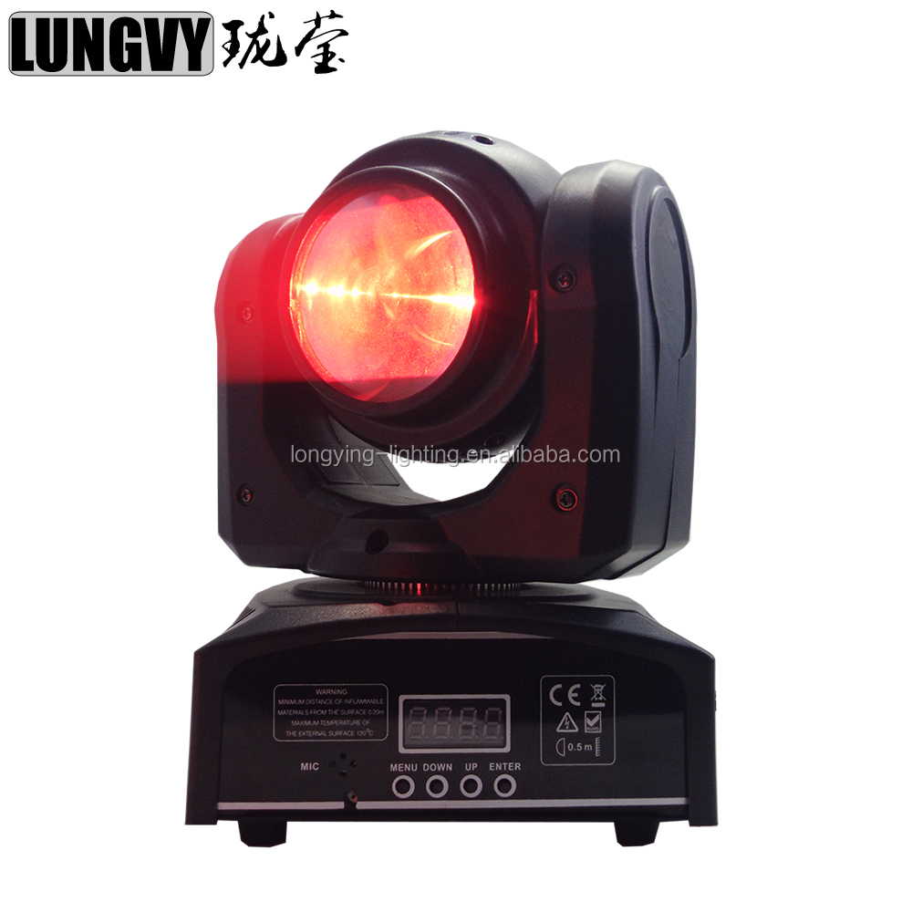 Led Spot Moving Head 40W RGBW 4IN1 DMX512 7/16CH Led Mini Moving Head Light