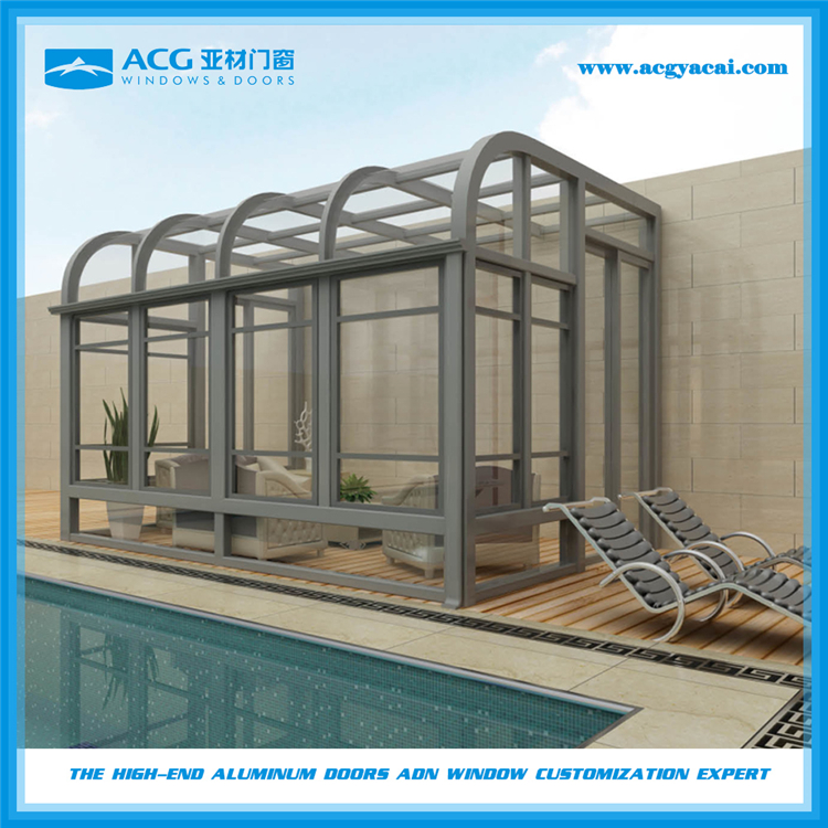 Winter garden / sunhouse/greenhouse with CE certificate