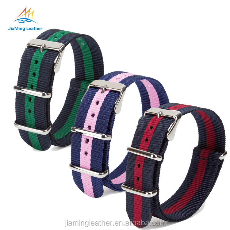 High Quality Customized Canvas NATO Strap For Watch