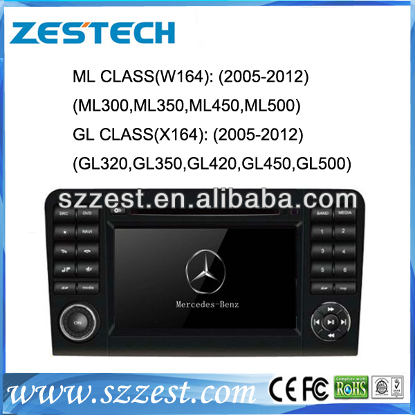 ZESTECH HD in dash car gps for Mercedes Benz ML CLASS W164 GL CLASS X164 GPS with DVD Radio Bluetooth iPod TV