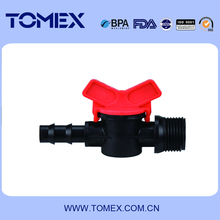 China wholesale 16mm pp material mini ball valve for irrigation