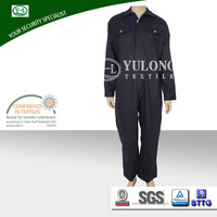 Safety navy long sleeve working men's cheap overalls