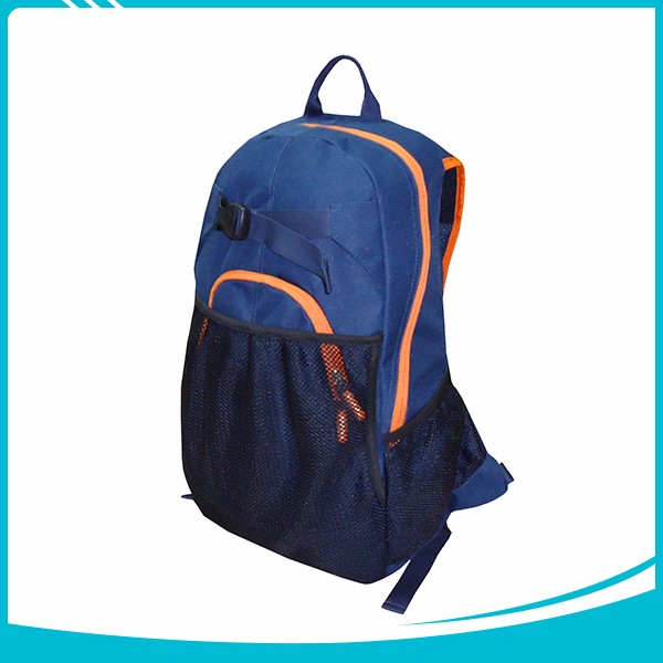 Wholesale customized leisure blue sports basketball backpack