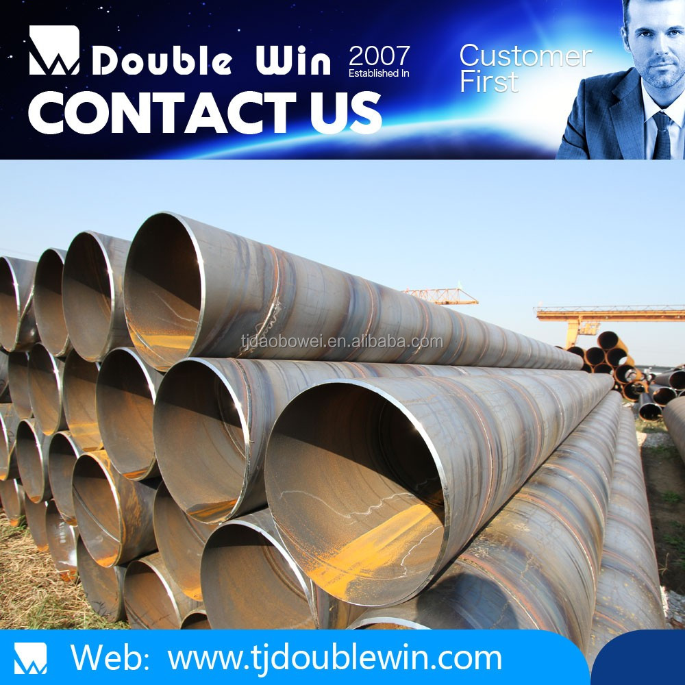 building material for spiral welded round steel pipe for construction material