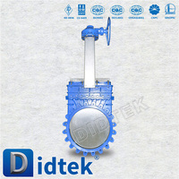 "Industrial Fast Delivery 12"" manual knife gate valve"