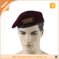 Best sale knitted male military beret hat