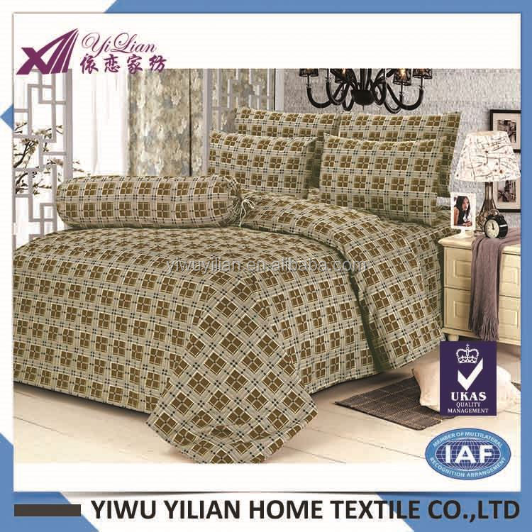FACTORY DIRECTLY excellent quality latest design bed sheet set from manufacturer