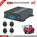 h.264 real time 4g rohs 8ch mobile dvr, S204 (4g&gps)