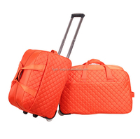 Large capacity Suitcase Sky Travel Grocery Wheels Polo Trolley Travel bags