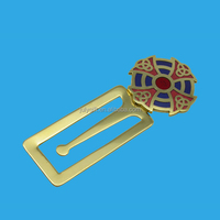 Custom Metal Korean Bookmark Brass Korean