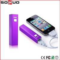 Rechargeable 18650 Battery Charger 2600 mAh Portable Metal Power Pack