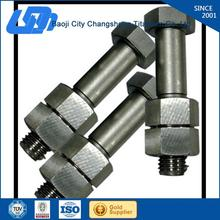 best price and good quality din 912 titanium bolt / titanium screw for motorcycle used for medical