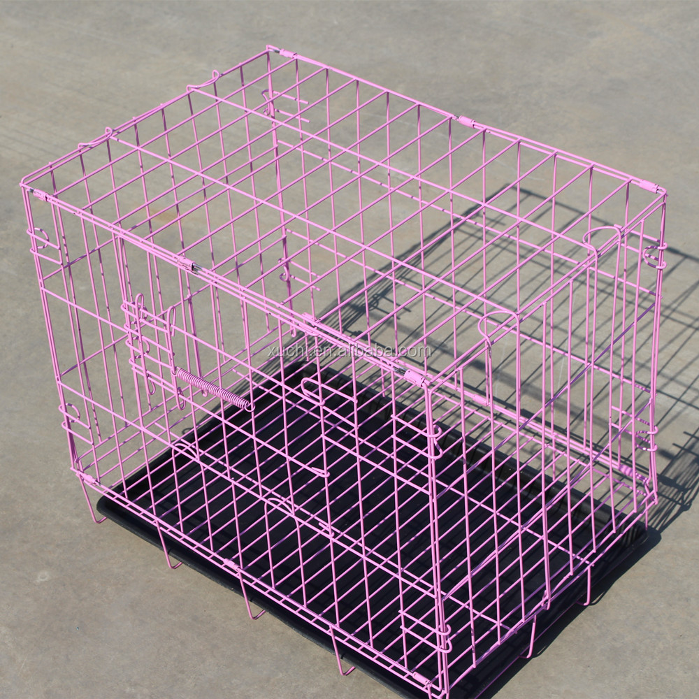Folding wire cages small dog cages pet cage