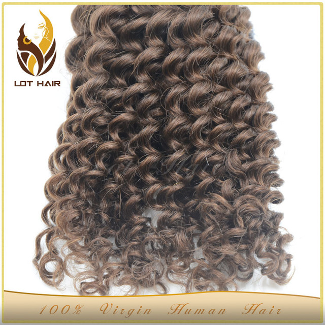 Alibaba Hair Weaving Supplier Indian Remy Bundles Virgin color afro curl weft natural hair extension