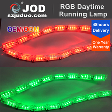 Cheapest Price WIFI Control Daytime Running Light Stretched RGB DRL