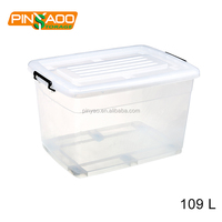 High Quality Food Grade Eco-Friendly Hard Plastic Storage Plastic Boxes