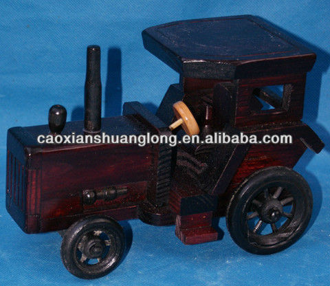 new hot sale exquisite handmade wooden model car for kids