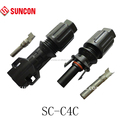 2016 $0.48/pair male and female Gender and PV connector Type T solar connector for 2.5mm2&4mm2