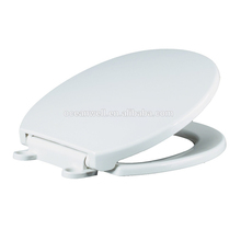 Specially designed toilet seat cover with soft close and two push button quick release for European market