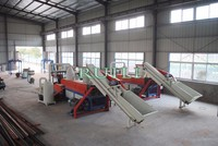 Waste Recycled PP PE Plastic Grinding Mill Granulating Machine