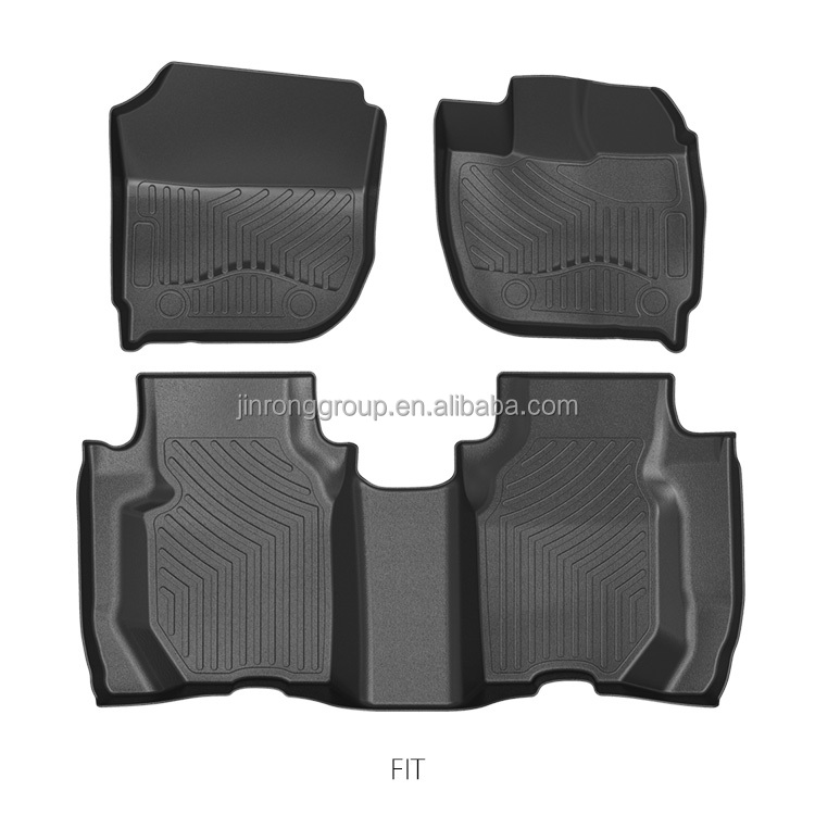 Right hand driving car floor mat for Honda Fit