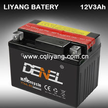 motorcycle storage battery GTZ5S/YTX4L-BS