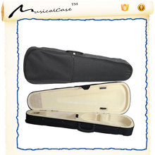 Factory price custom hard colorful acoustic guitar case wooden foam violin case