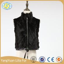 Made in China new products china manufacturer Outdoor travel luxury fur vests waistcoats